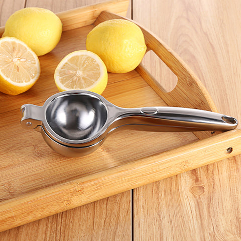 Image of Stainless Steel Citrus Fruits Hand Squeezer