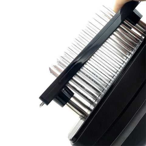 Image of Quality Meat Tenderizer 48 Stainless Steel Razor-Sharp Blades