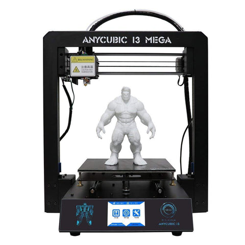 Image of Anycubic Upgraded Full Metal I3 Mega 3D PRINTER with Ultra Base Heated