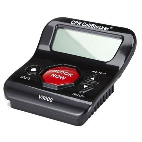 CPR V5000 Call Blocker - Block All Robocalls, Scam Calls,  on Landline Phones