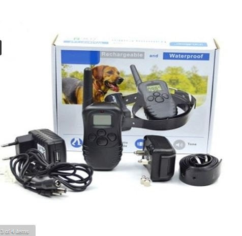 Rechargeable and Waterproof Dog Training Collar.