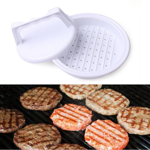 Image of DIY Hamburger Patty Maker Press Meat Compactor Press Mold Grill Burger Maker Kitchen Tools