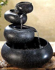 Image of FOUR TIER TABLETOP FOUNTAIN 10031140