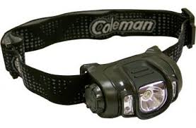 Image of Coleman Headlamp Multi-Color LED, Camouflage