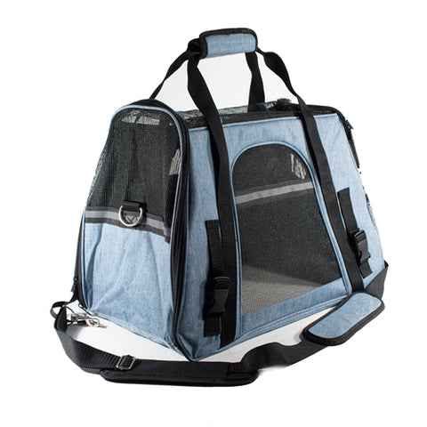 Portable Heavy Duty Pet Travel Shoulder Carrier Bag