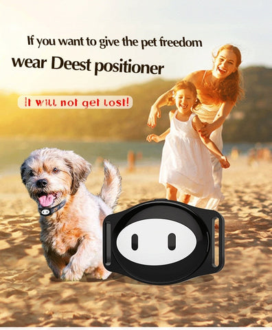 Image of Pet GPS Tracker Dog Collar Waterproof IP68 5Days Standby Geo-fence Mini GPS Tracker Cat GPS Collar Voice Call WiFi+LBS FREE APP