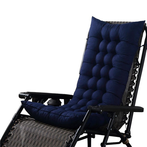 Image of Outdoor Bench Cushion Garden Chair Cushion  Bench Pillow Recliner Soft Back Cushion Rocking Chair Seat Mat Recliner Supplies