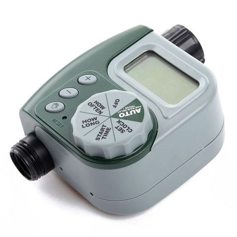 Image of Electronic Water Tap Timer DIY Garden Irrigation Control Unit Digital LCD
