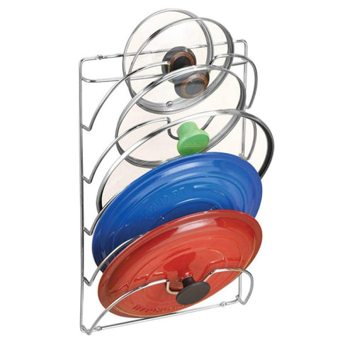 Pan Lid Storage Rack Wall Mount Pot Cover Organizer Holder Kitchen Accessories --M25