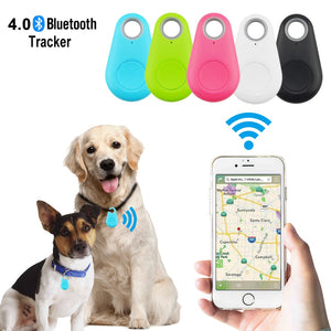 Waterproof Smart Key Finder Locator GPS Tracking Device for Kids Boys Girls Pets Cat Dog
