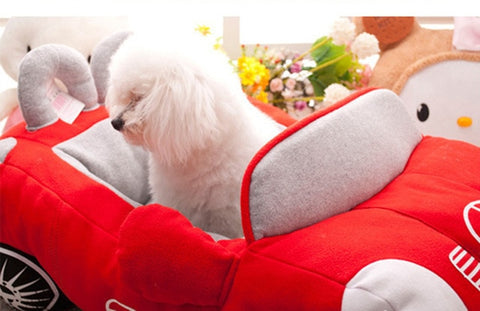 Dog Bed Designs Sports Car Shaped Collection | Soft, Stylish, Comfortable, Eye-Catching Design |