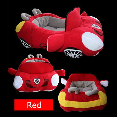 Image of Dog Bed Designs Sports Car Shaped Collection | Soft, Stylish, Comfortable, Eye-Catching Design |
