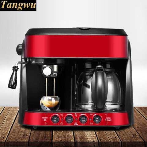Image of Espresso coffee maker USES fully automatic commercial American style Drip Coffee Maker