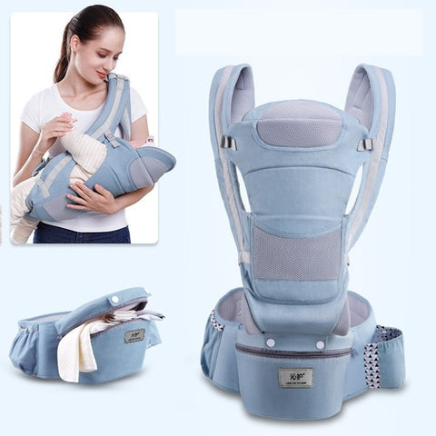 4-in-1 baby Carrier,  Ergonomic , convertible, face-in and face-out front and back carry for newborns and older babies