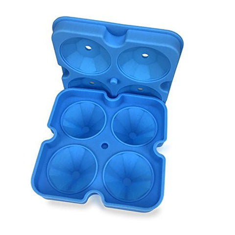 Image of Diamond-Shaped Ice Cube Tray Silicone Easy Release