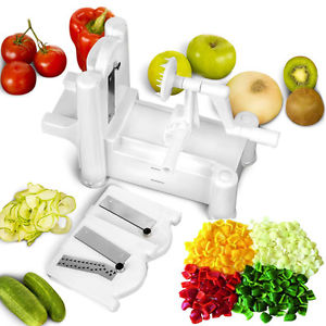 Image of Strongest-and-Heaviest Duty Vegetable Spiral Slicer.
