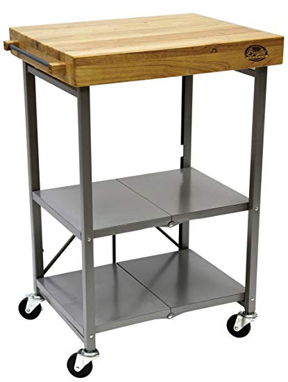 Bradley Smoker Foldable Kitchen Cart