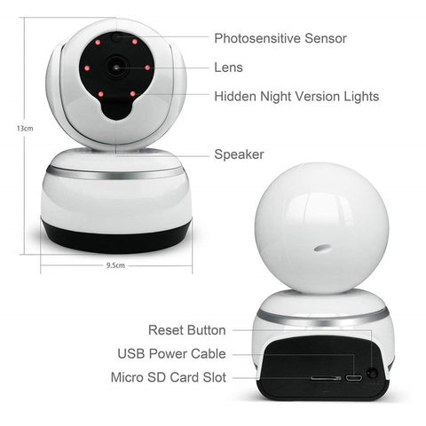 Image of Mini  Camera wireless home security video surveillance Infrared