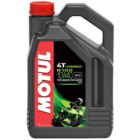 Motul 5100 Ester 4T Technosynthetic Oil 4 L