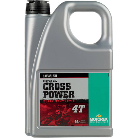 Motorex Cross Power 4T Engine Oil 10W 50 4L