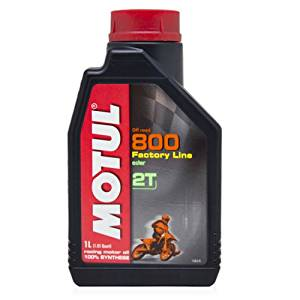 Motul 800 Synthetic Motor Oil 2T 1L