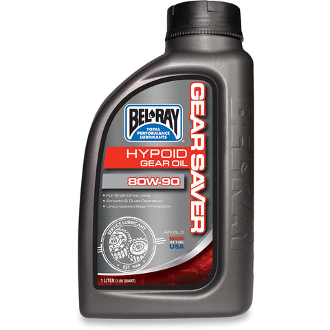 Bel-Ray Gear Saver Hypoid Gear Oil 80W 90 1L