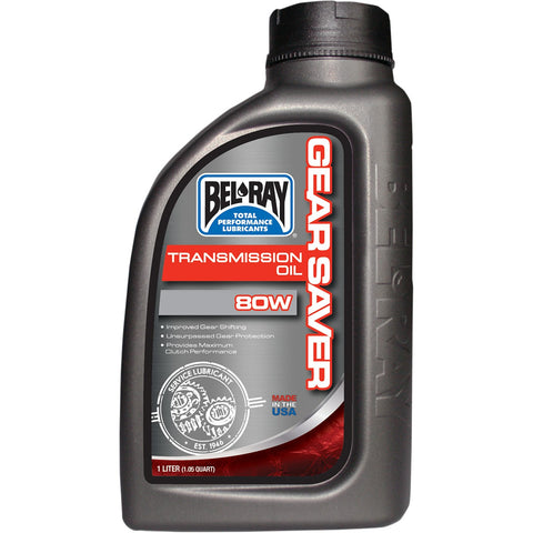 Bel-Ray Gear Saver Transmission Oil 80W 1L
