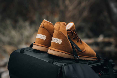 Australian made Sheepskin Boots & Travelinjshots