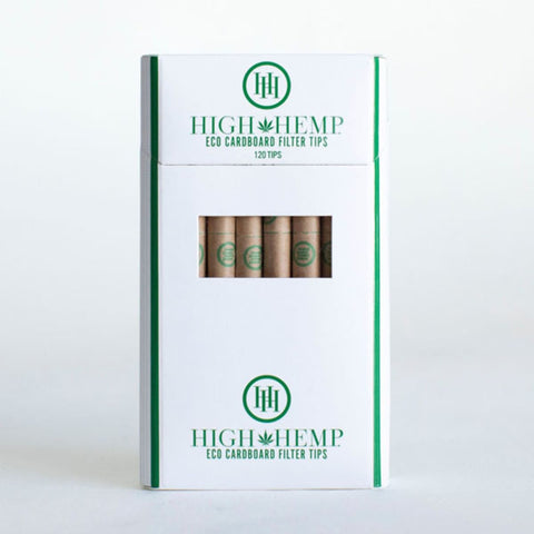 High Hemp Eco Cardboard Tips Pre-Rolados