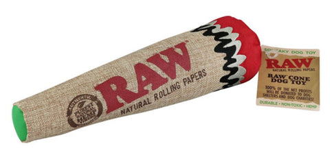 Raw Cone Dog Chew Toy