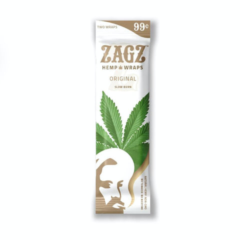Zigzag Hemp Wraps Zagz