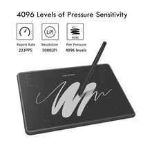 Load image into Gallery viewer, HUION H430P Digital Tablets Micro USB Signature Graphics Drawing Pen Tablet OSU Game Battery-Free Tablet With Gift