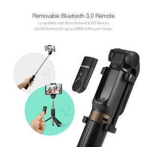 BlitzWolf BS3 3-in-1 Wireless Bluetooth Selfie Stick