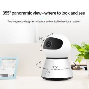 Wireless Mini IP Camera - Movement, Infrared, & Sound Detection