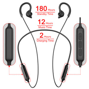PTM X1 Neckband Bluetooth Earphone Wireless Headphones Gaming Headset Bluetooth Earbuds with Mic for iPhone Samsung mi Handsfree