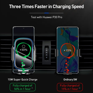 Intelligent Wireless Car Charger