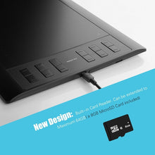Load image into Gallery viewer, Huion New 1060 Plus Professional Digital Drawing Tablet 8192 Levels Pen Pressure 12 HotKey Graphic Tablets with Two Digital Pens