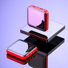 Load image into Gallery viewer, Mini Mirror Power Bank 20000mAh / 10000mAh