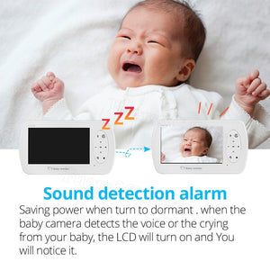 "4.3"" Wireless Video Baby Monitor with Two-way Audio"