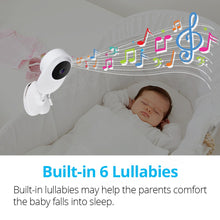 "Load image into Gallery viewer, 4.3"" Wireless Video Baby Monitor with Two-way Audio"