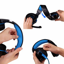 Load image into Gallery viewer, KOTION EACH Gaming Headset with Microphone LED Light for PS4 Phone PC Gamer