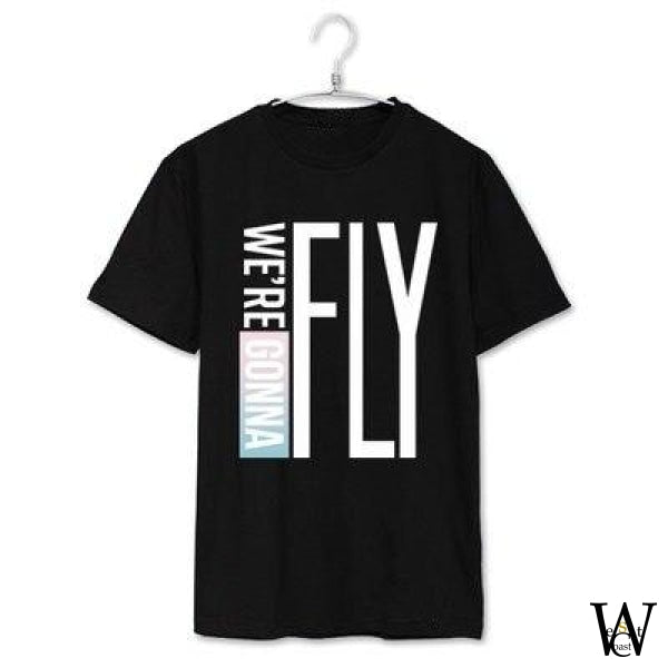 Tshirt Got7 Fly In Seoul Edition Noir / Xs
