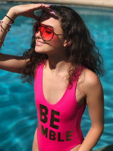 Pink Shields Sunglasses