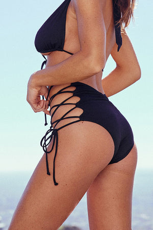 Black Two Piece Bikini