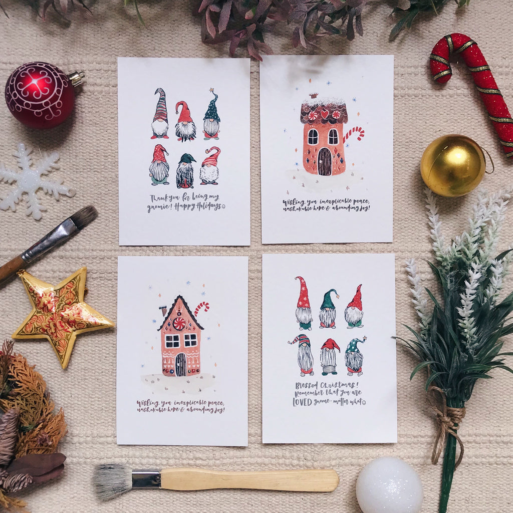 You Gnome Me - Xmas Cards (LIMITED SETS AVAILABLE)