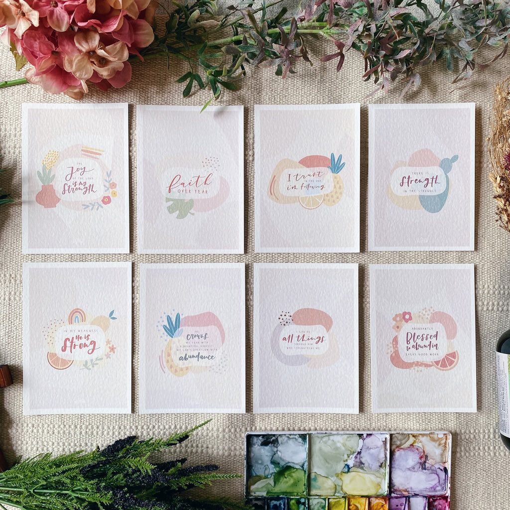 Bear Fruit - Blessing Cards (Set of 8)