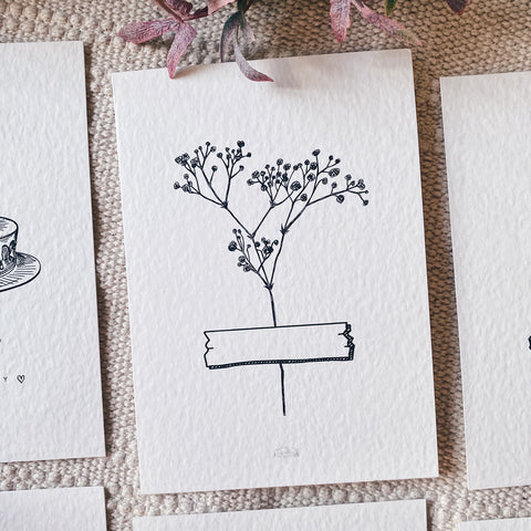 Wildflower Blessing Cards (Set of 6)