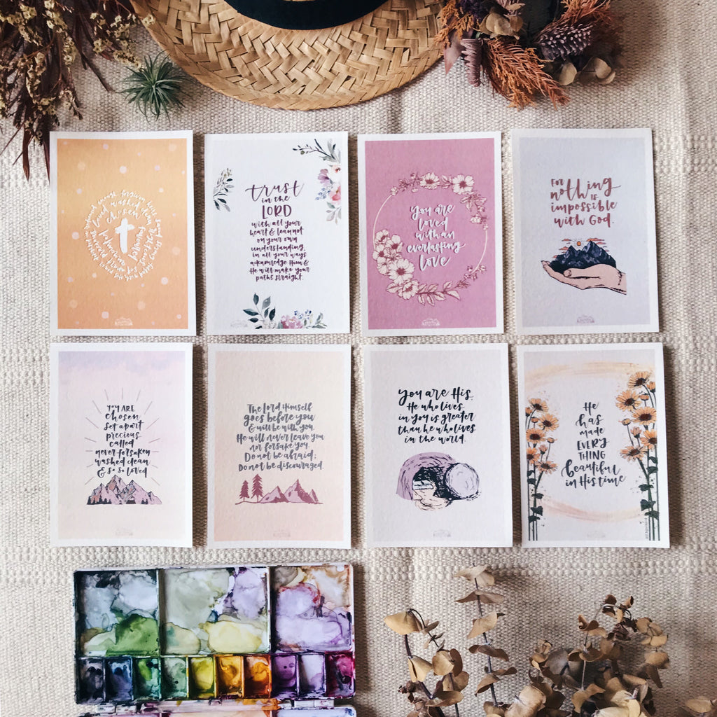 Chosen & Set Apart - Blessing Cards (Set of 8)