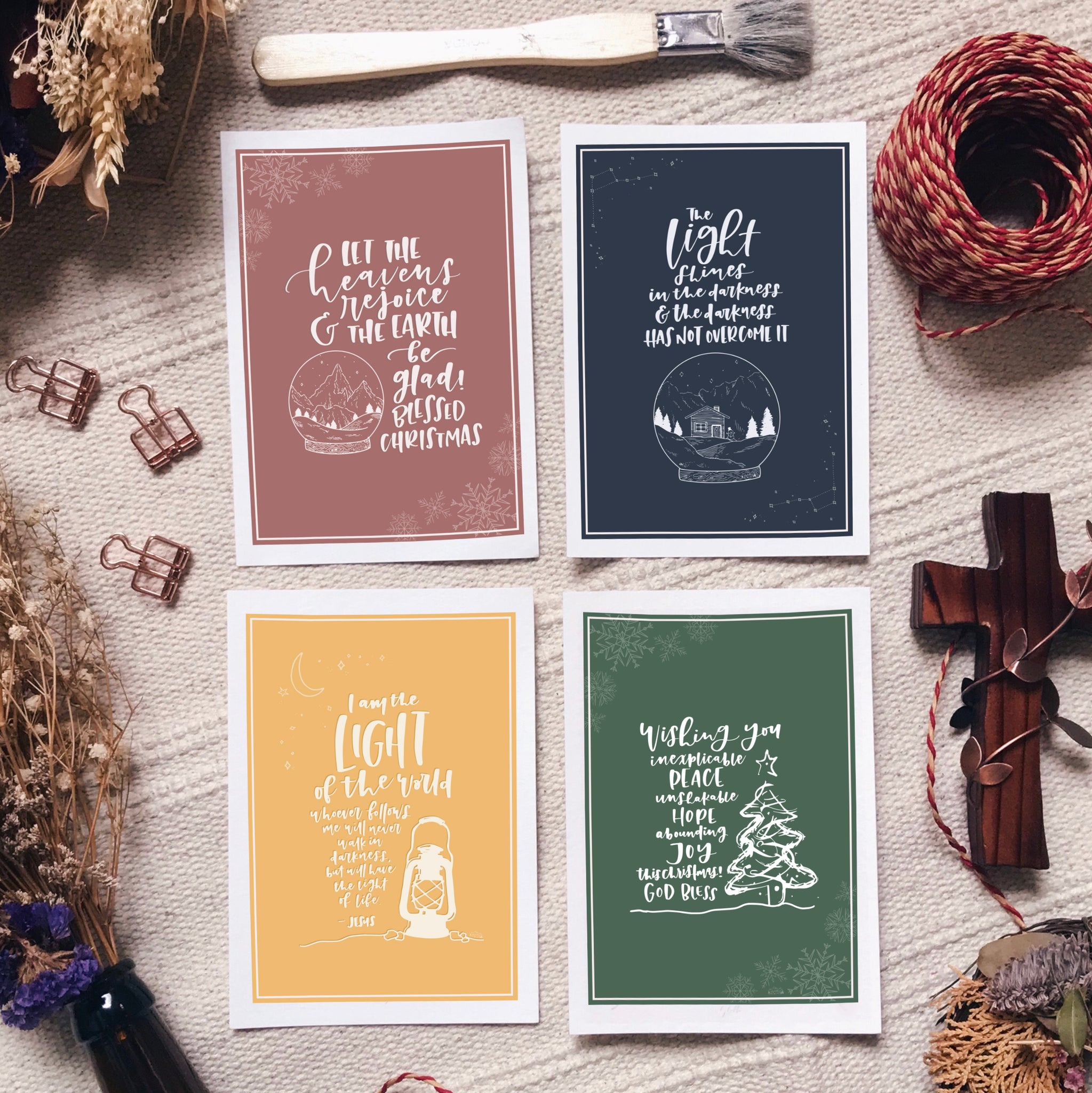 Seasons Greetings - Blessing Card Set