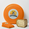 The best 'Mushrooms & Chestnuts Gouda Cheese' comes from Holland, and now widely available in the US!